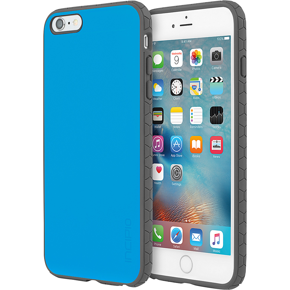 Incipio Octane for iPhone 6/6s Plus Cyan/Charcoal - Incipio Electronic Cases - Technology, Electronic Cases