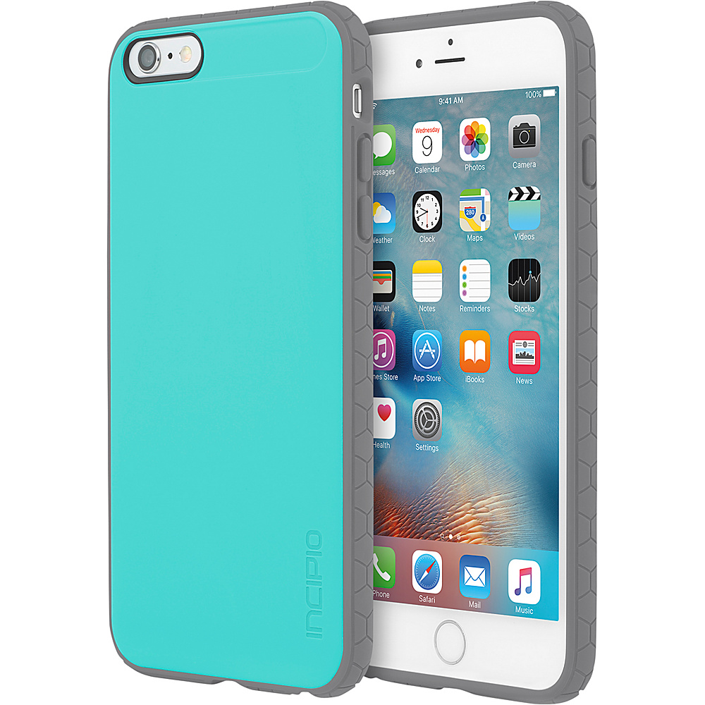 Incipio Octane for iPhone 6/6s Plus Turquoise/Gray - Incipio Electronic Cases - Technology, Electronic Cases