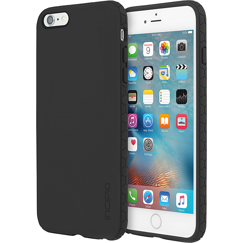 Incipio Octane for iPhone 6/6s Plus Black/Black - Incipio Electronic Cases - Technology, Electronic Cases