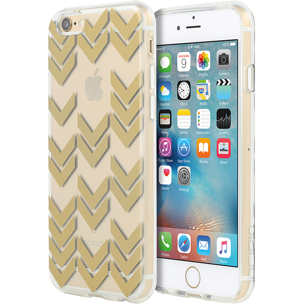 Incipio Design Series for iPhone 6/6s Plus Aria Pattern Gold - Incipio Electronic Cases - Technology, Electronic Cases