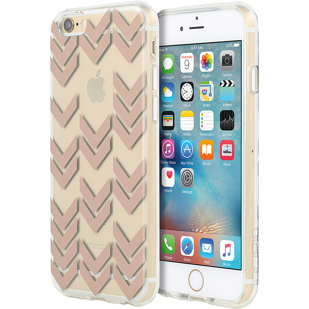 Incipio Design Series for iPhone 6/6s Plus Aria Pattern Rose Gold - Incipio Electronic Cases - Technology, Electronic Cases