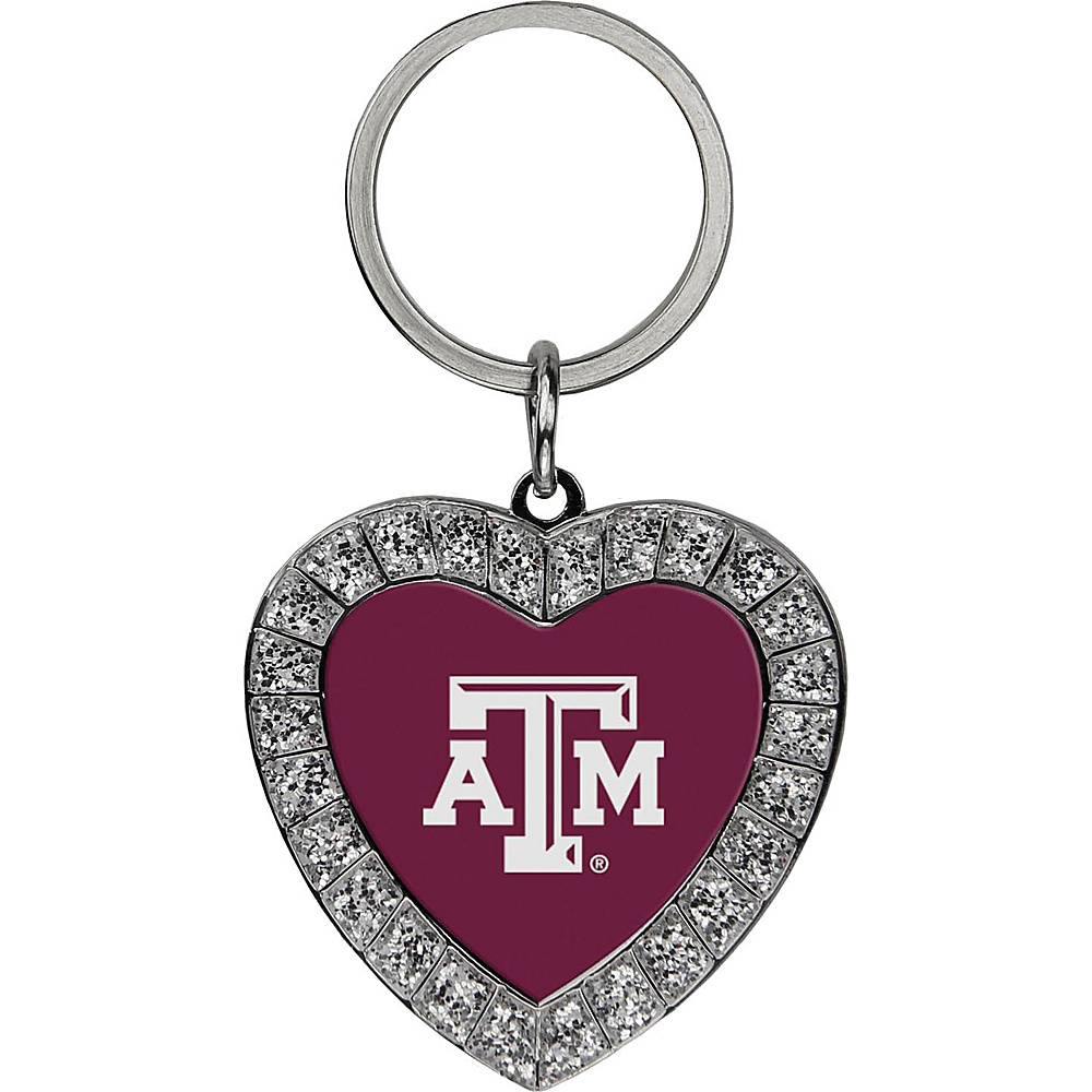 Luggage Spotters NCAA Texas A & M Rhinestone Key Chain Burgundy - Luggage Spotters Women's SLG Other