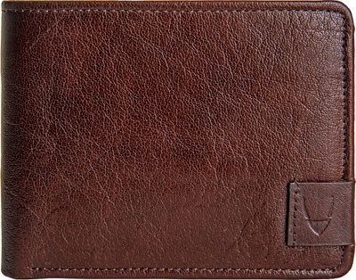 Hidesign Vespucci Buffalo Leather Trifold Wallet Brown - Hidesign Mens Wallets