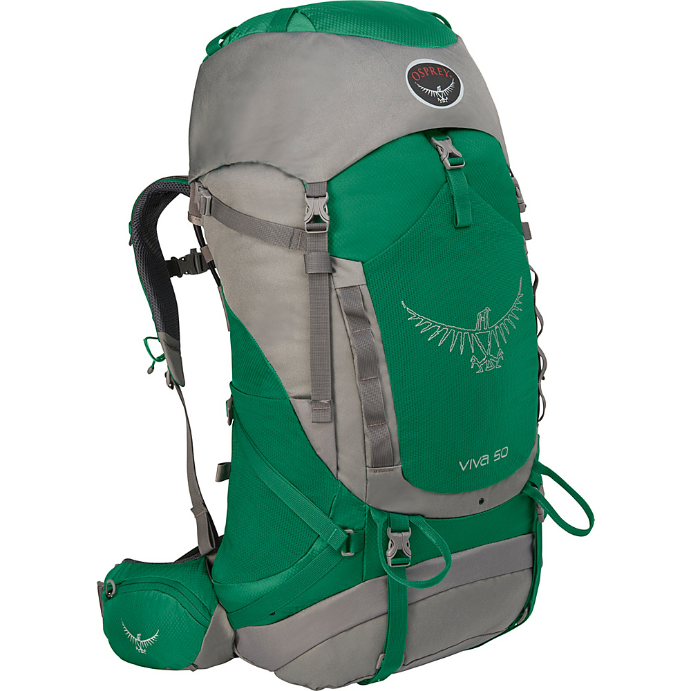 Osprey Viva 50 Hiking Backpack Sea Green - Osprey Backpacking Packs - Outdoor, Backpacking Packs