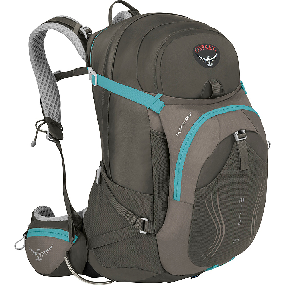 Osprey Mira AG 34 Hiking Pack Misty Grey - XS/S - Osprey Day Hiking Backpacks - Outdoor, Day Hiking Backpacks