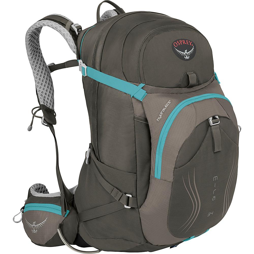 Osprey Mira AG 34 Hiking Pack Misty Grey - S/M - Osprey Day Hiking Backpacks - Outdoor, Day Hiking Backpacks