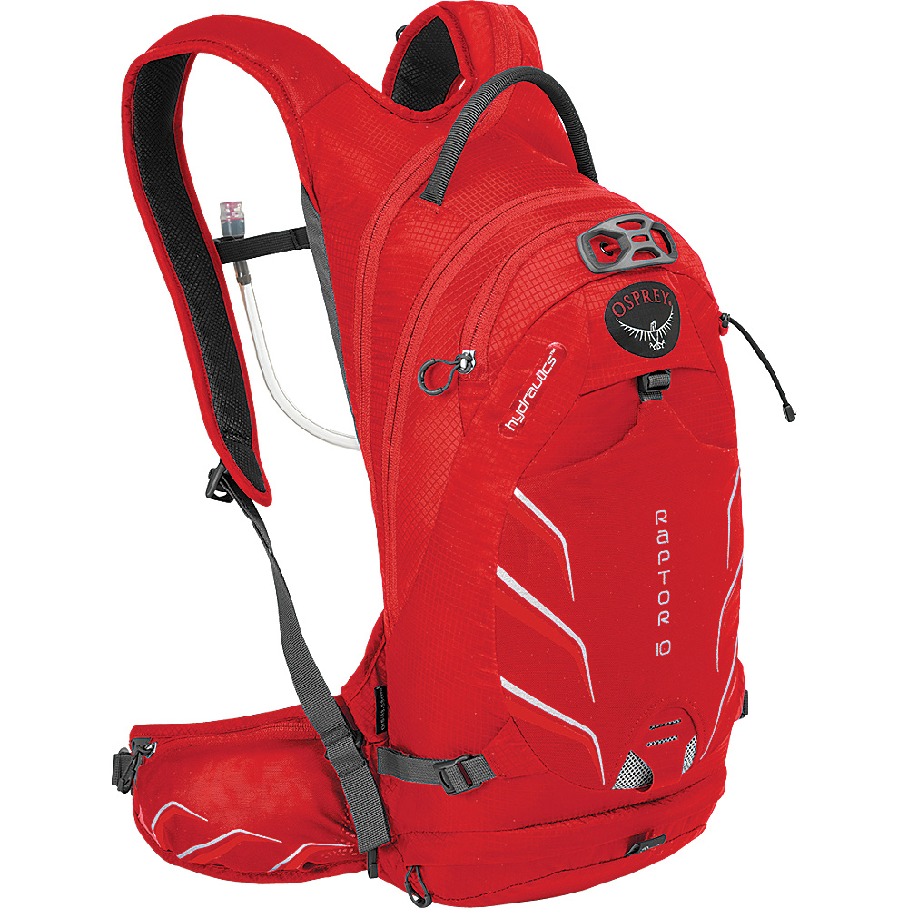 Osprey Raptor 10 Biking Backpack Red Pepper - Osprey Day Hiking Backpacks - Outdoor, Day Hiking Backpacks