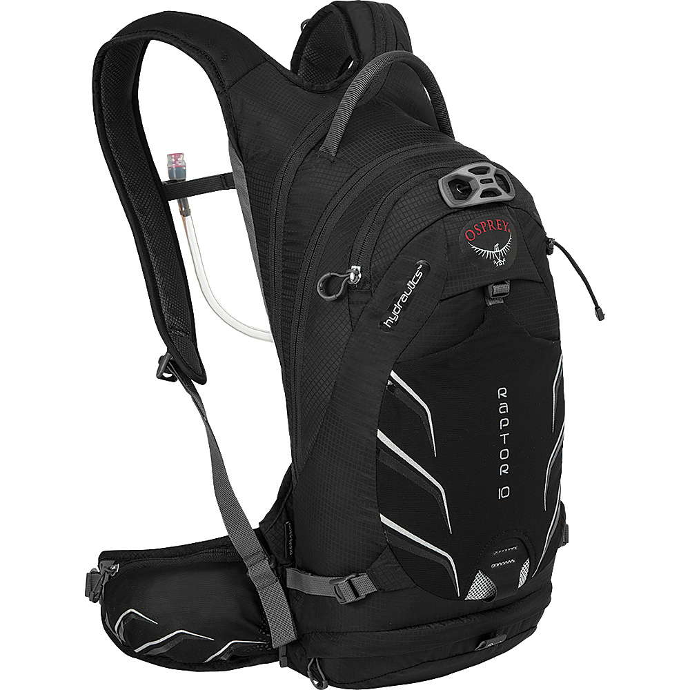 Osprey Raptor 10 Biking Backpack Black - Osprey Day Hiking Backpacks - Outdoor, Day Hiking Backpacks