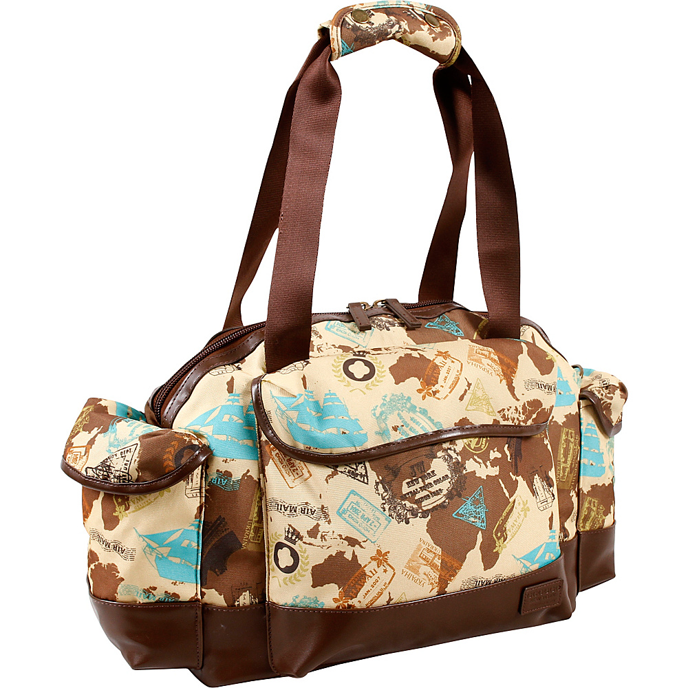 J World New York Deca Duffel Bag Atlas - J World New York Travel Duffels - Duffels, Travel Duffels