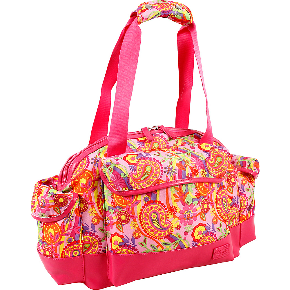 J World New York Deca Duffel Bag Pink Paisley - J World New York Travel Duffels - Duffels, Travel Duffels