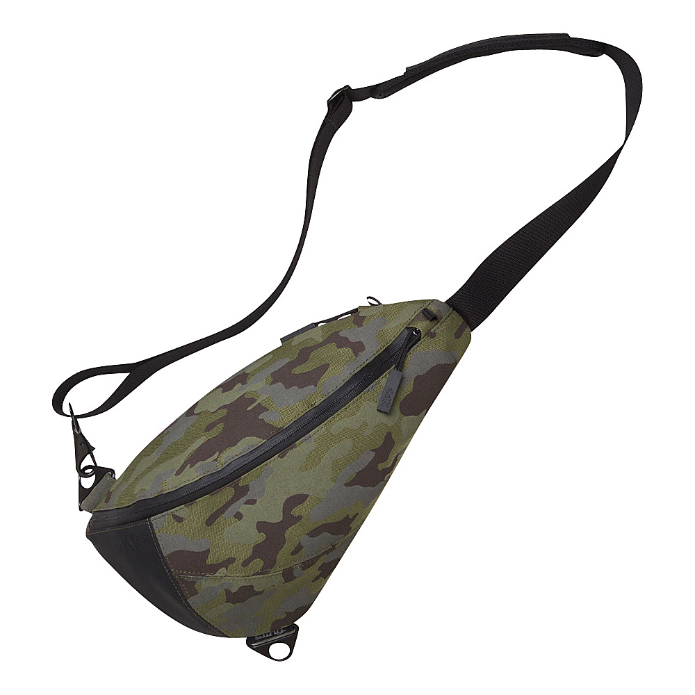 Keep Pursuing KP Sling Bag Woodland Camo/Sky Blue Interior - Keep ...