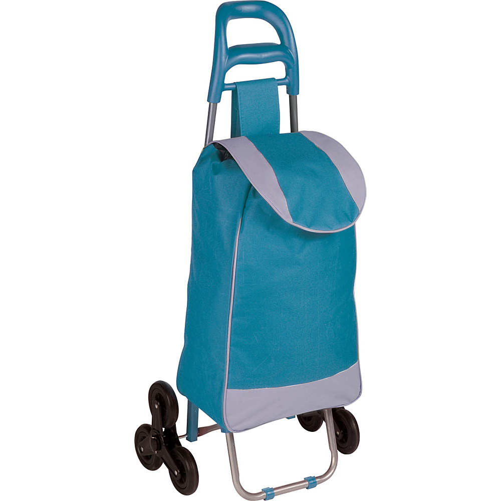 Honey Can Do Bag Cart With Tri Wheels blue Honey Can Do Luggage Accessories