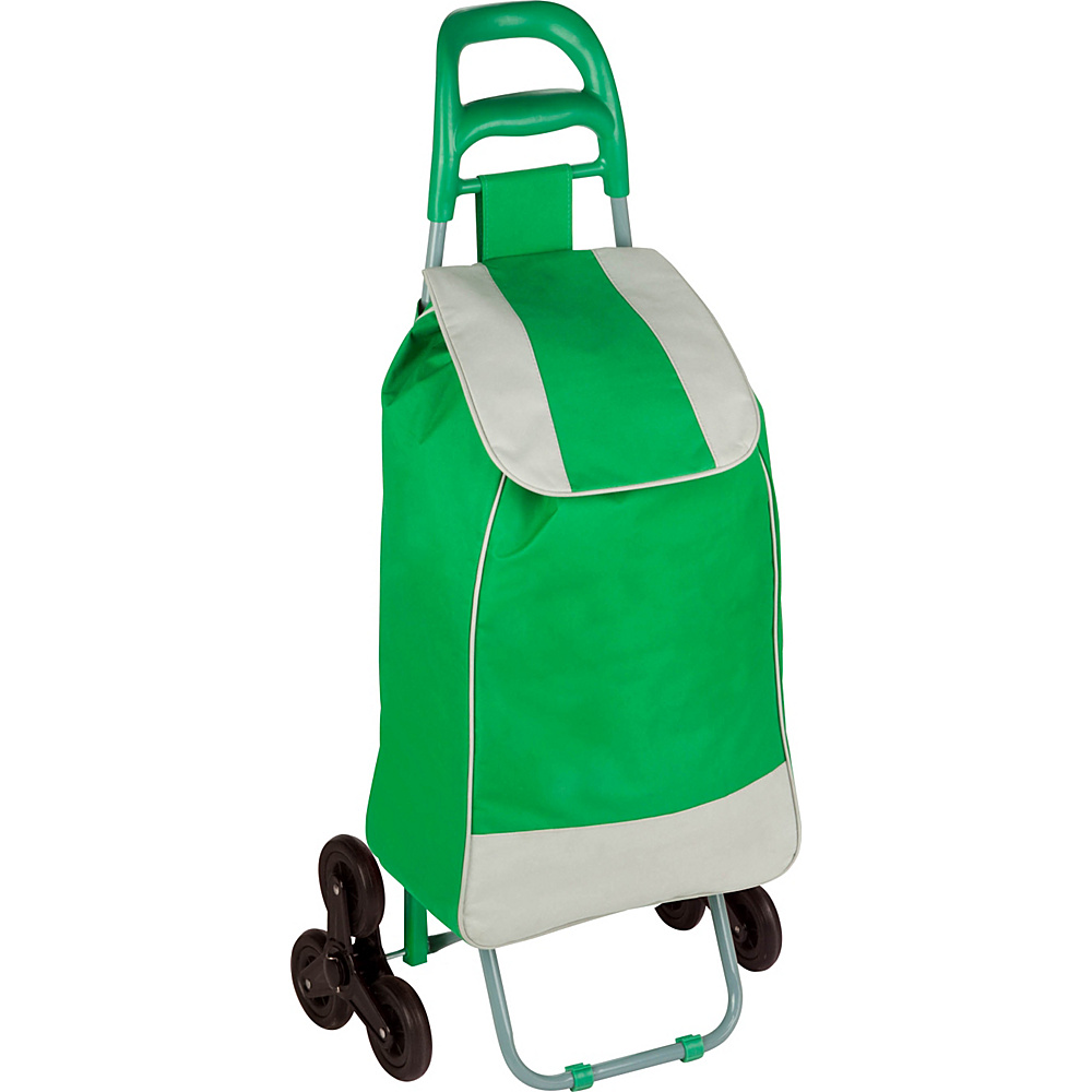 Honey Can Do Bag Cart With Tri Wheels green Honey Can Do Luggage Accessories