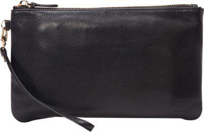 HButler The Mighty Purse Phone Charging Wristlet Matte Black - HButler Leather Handbags