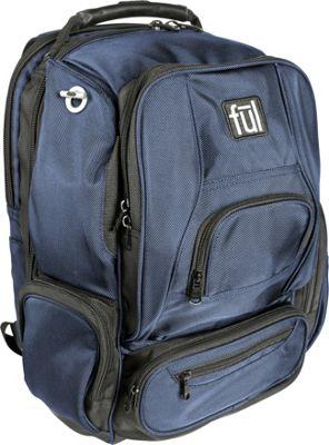 ful Upload Laptop Backpack Navy - ful Business & Laptop Backpacks