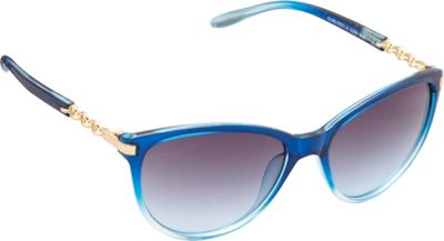 Unionbay Eyewear Chain Link Cat Eye Sunglasses Blue Fade - Unionbay Eyewear Sunglasses