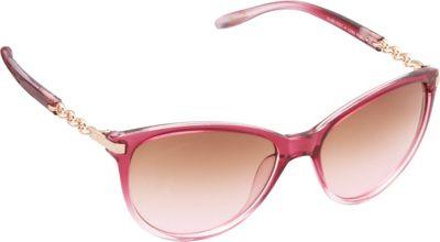 Unionbay Eyewear Chain Link Cat Eye Sunglasses Pink Fade - Unionbay Eyewear Sunglasses