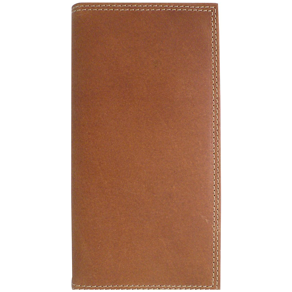 Canyon Outback Crazy Horse RFID Security Blocking Leather Long Wallet Distressed Tan Canyon Outback Men s Wallets