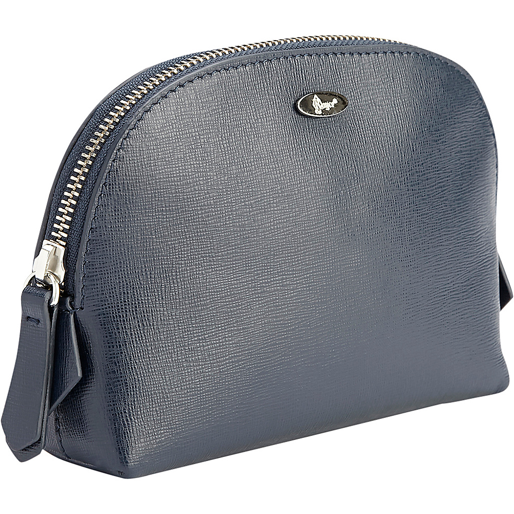 Royce Leather Luxury Saffiano Leather Travel Cosmetic Bag Blue - Royce Leather Womens SLG Other - Women's SLG, Women's SLG Other
