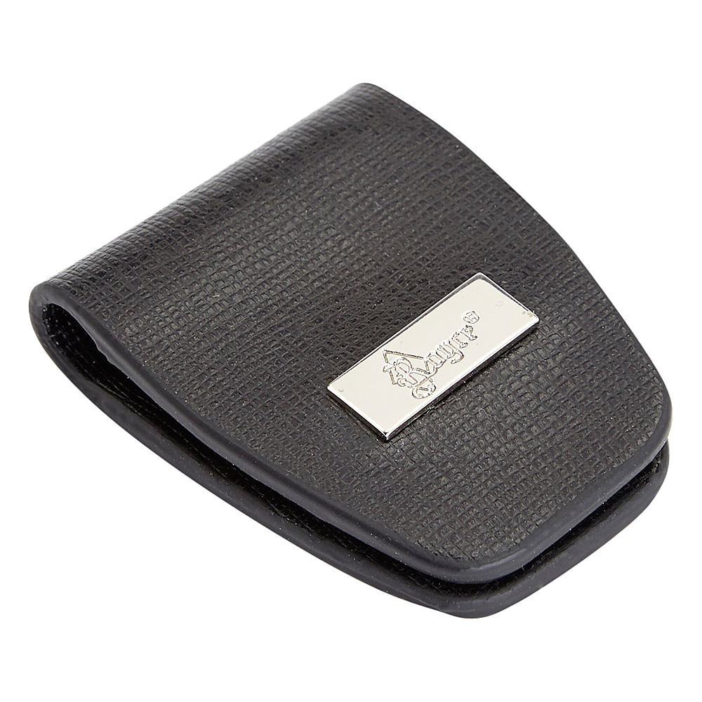 Royce Leather Slim Magnetic Money Holder Wallet Black Royce Leather Men's Wallets