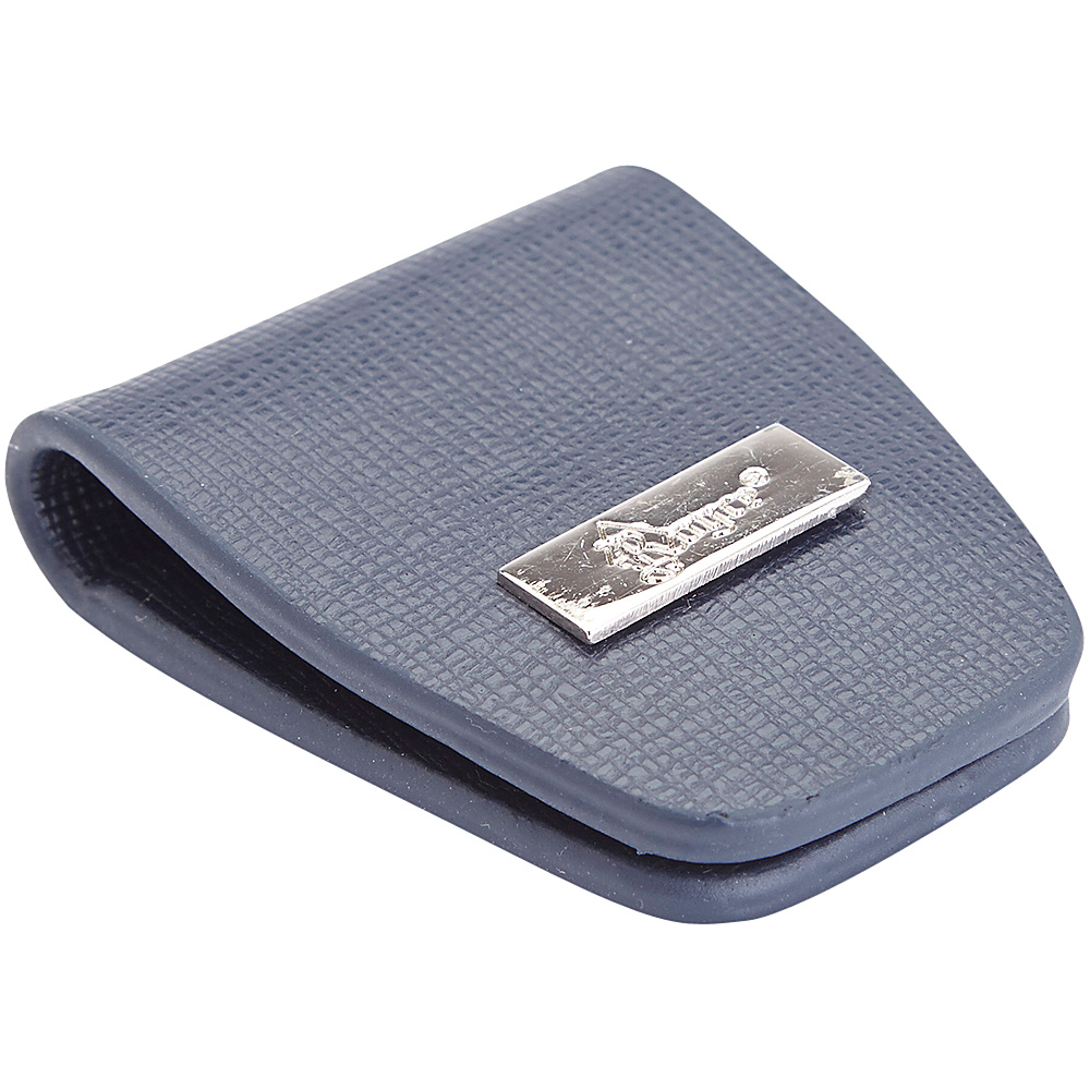 Royce Leather Slim Magnetic Money Holder Wallet Blue Royce Leather Men's Wallets