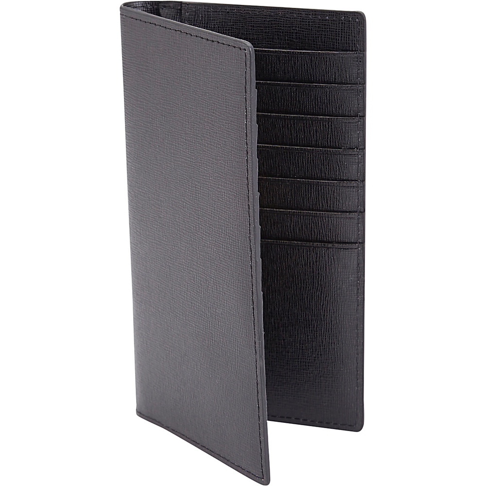Royce Leather RFID Blocking Bifold Credit Card Wallet Black - Royce Leather Mens Wallets - Work Bags & Briefcases, Men's Wallets