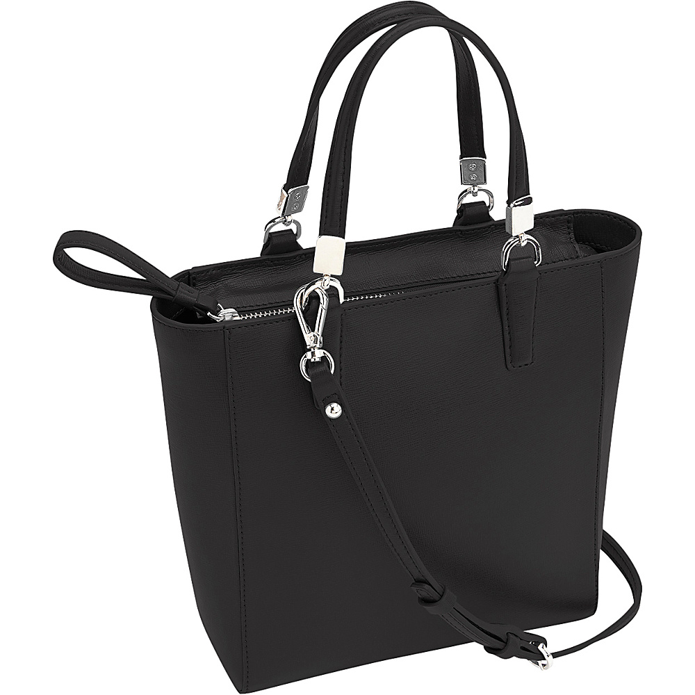 Royce Leather RFID Blocking Tote Crossbody Black - Royce Leather Leather Handbags - Handbags, Leather Handbags