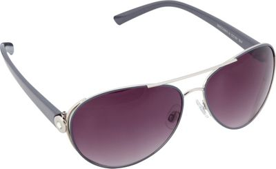Circus by Sam Edelman Sunglasses Modified Aviator Sunglasses Silver/Grey - Circus by Sam Edelman Sunglasses Sunglasses