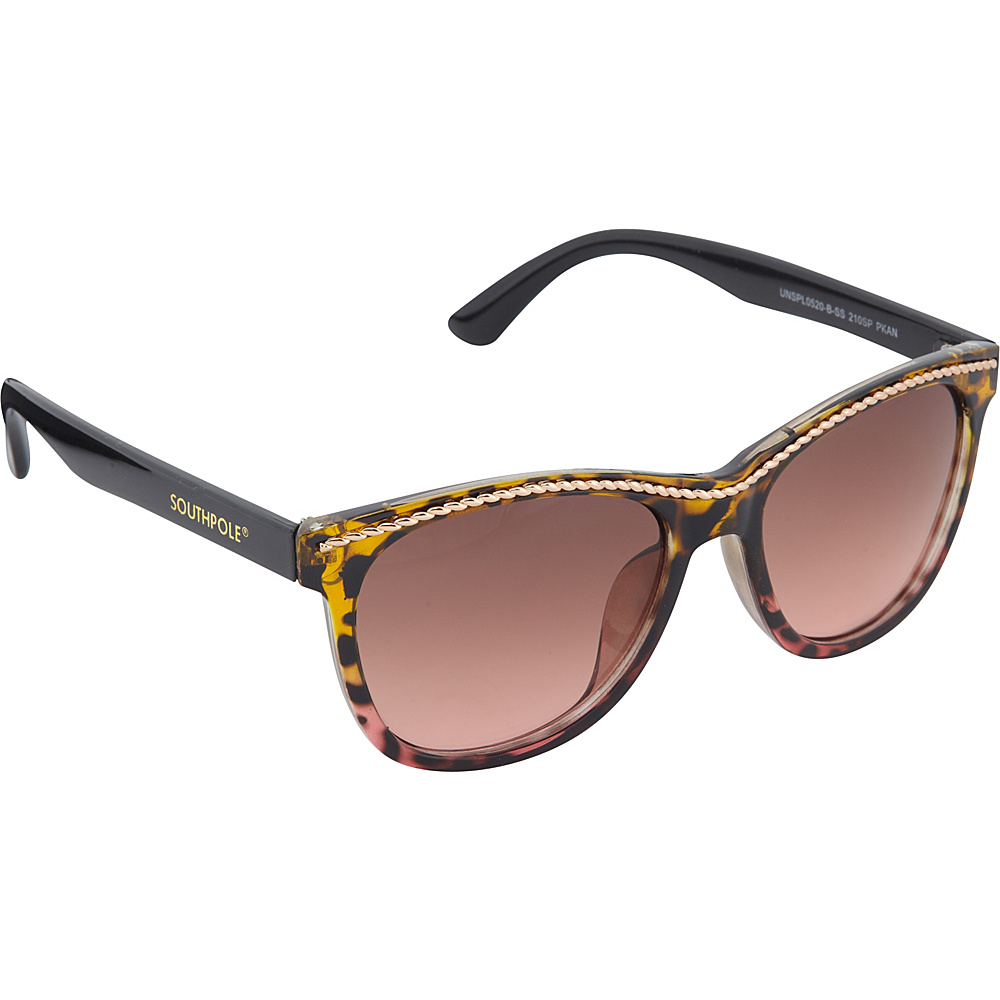 SouthPole Eyewear Cat Eye Sunglasses Pink Animal SouthPole Eyewear Sunglasses