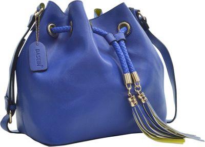 Dasein Bucket Bag Blue - Dasein Leather Handbags