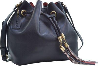 Dasein Bucket Bag Black - Dasein Leather Handbags