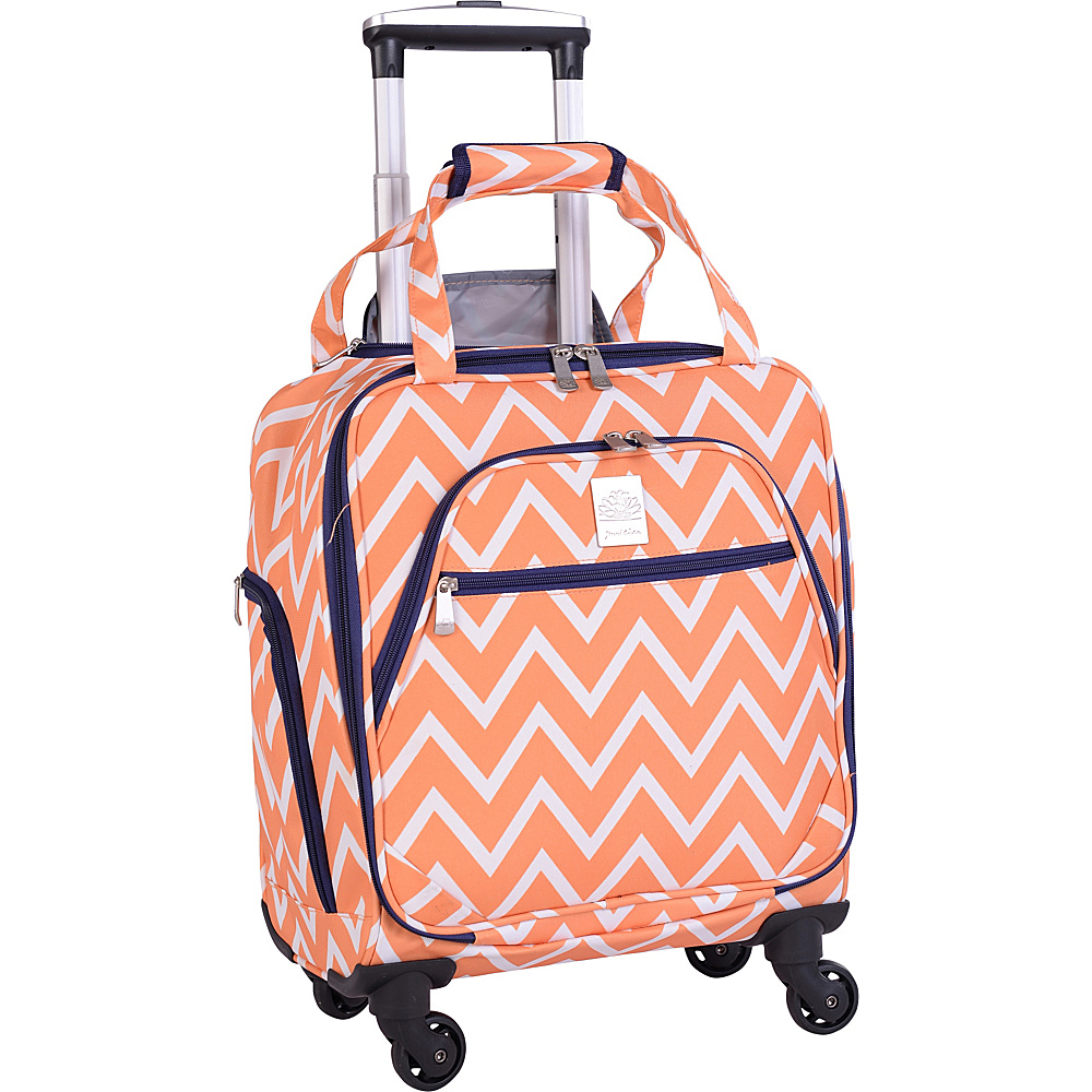 Jenni Chan Aria Madison 15 Spinner Tote Orange Jenni Chan Luggage Totes and Satchels