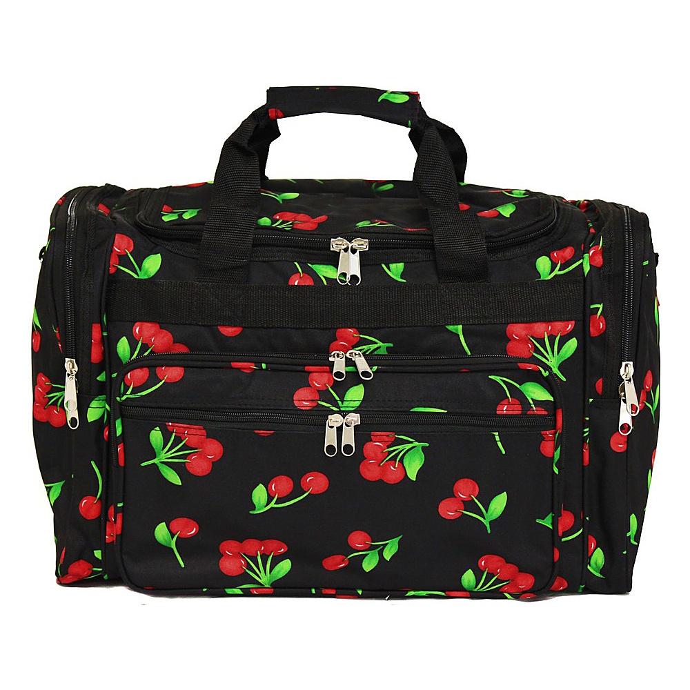 World Traveler Cherry 19 Shoulder Duffle Bag Cherry - World Traveler Rolling Duffels - Luggage, Rolling Duffels