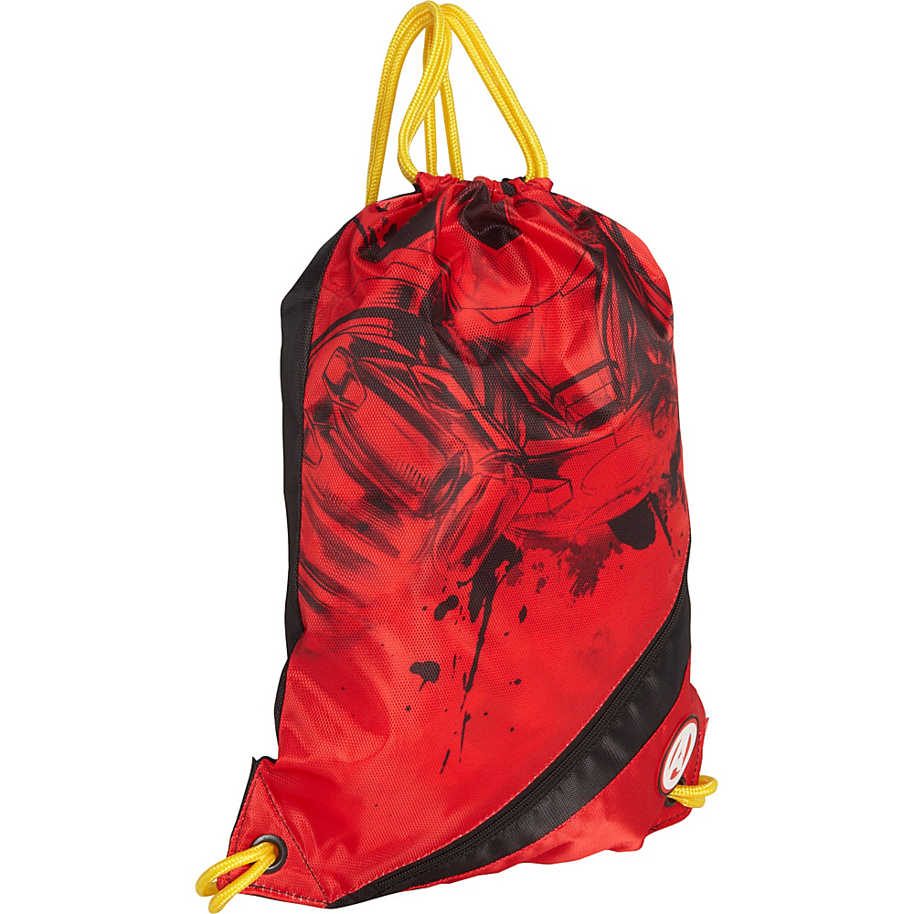 Hello Kitty Golf Marvel Iron-Man Sackpack Red - Hello Kitty Golf Everyday Backpacks