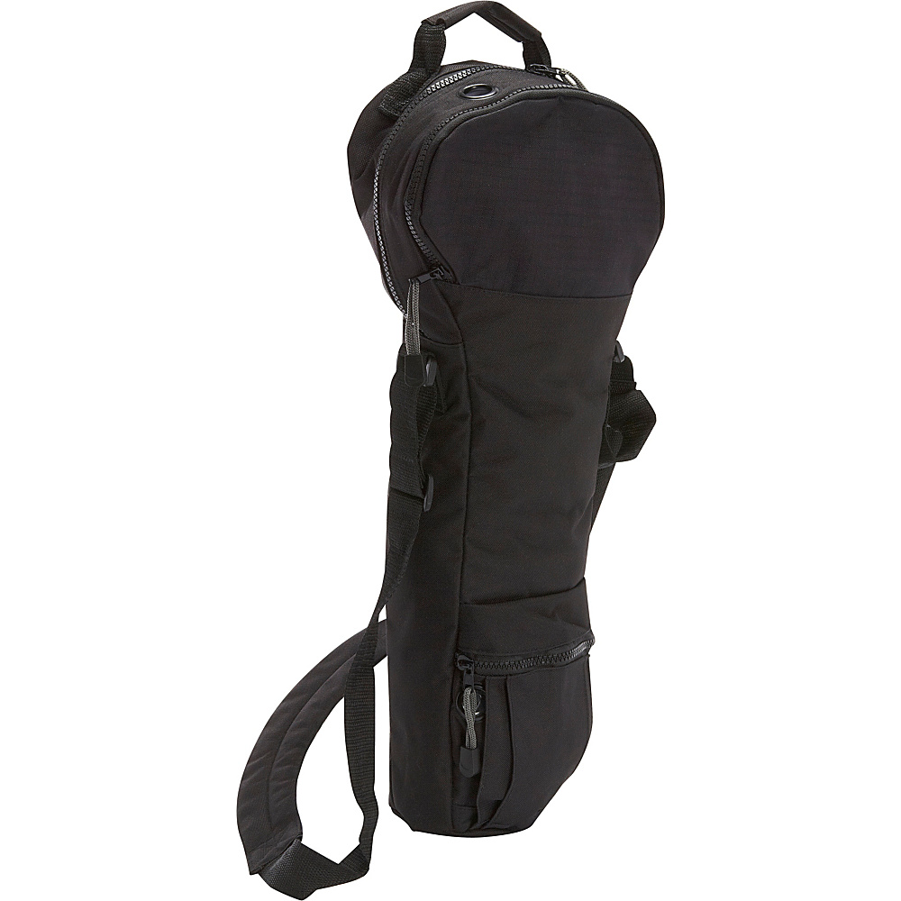Cramer Decker Medical Oxygen Cylinder Shoulder Bag (D Size Cylinder) Black - Cramer Decker Medical Other Sports Bags