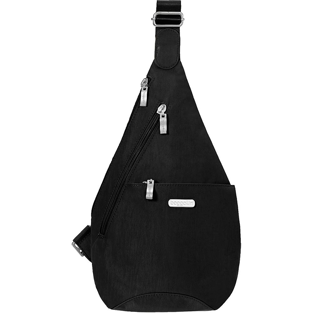 baggallini Mini Sling Backpack Black/Sand - baggallini Fabric Handbags - Handbags, Fabric Handbags