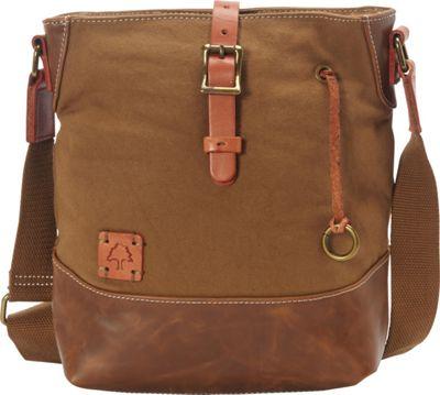 TSD Redwood Crossbody Khaki - TSD Fabric Handbags