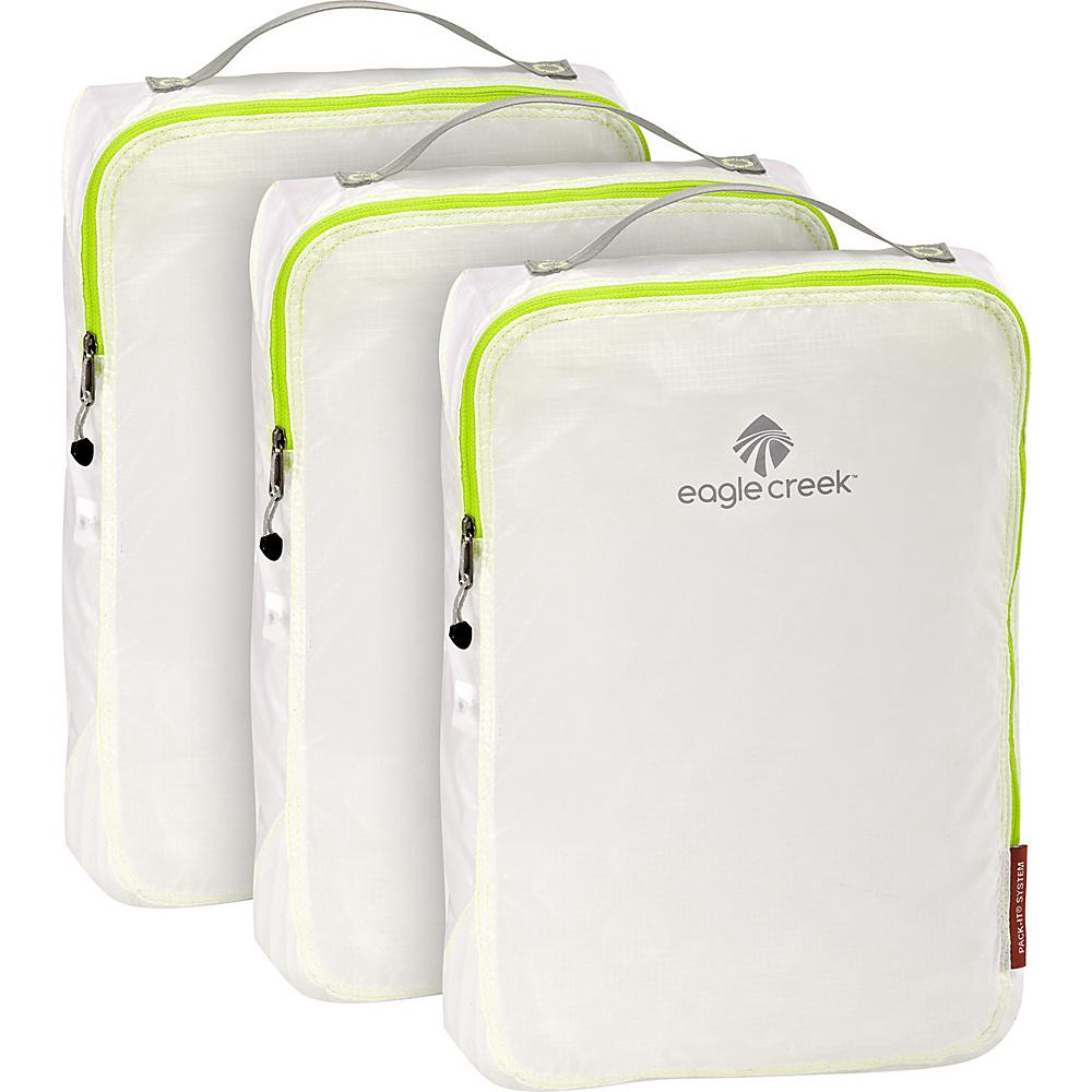 Eagle Creek Pack-It Specter Full Cube Set White/Strobe - Eagle Creek Travel Organizers - Travel Accessories, Travel Organizers