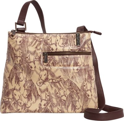 Donna Sharp Becki Crossbody - Exclusive Thoroughbred - Donna Sharp Fabric Handbags