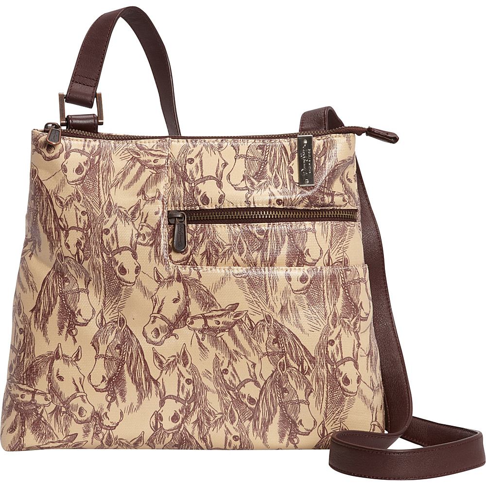 Donna Sharp Becki Crossbody Exclusive Thoroughbred Donna Sharp Fabric Handbags