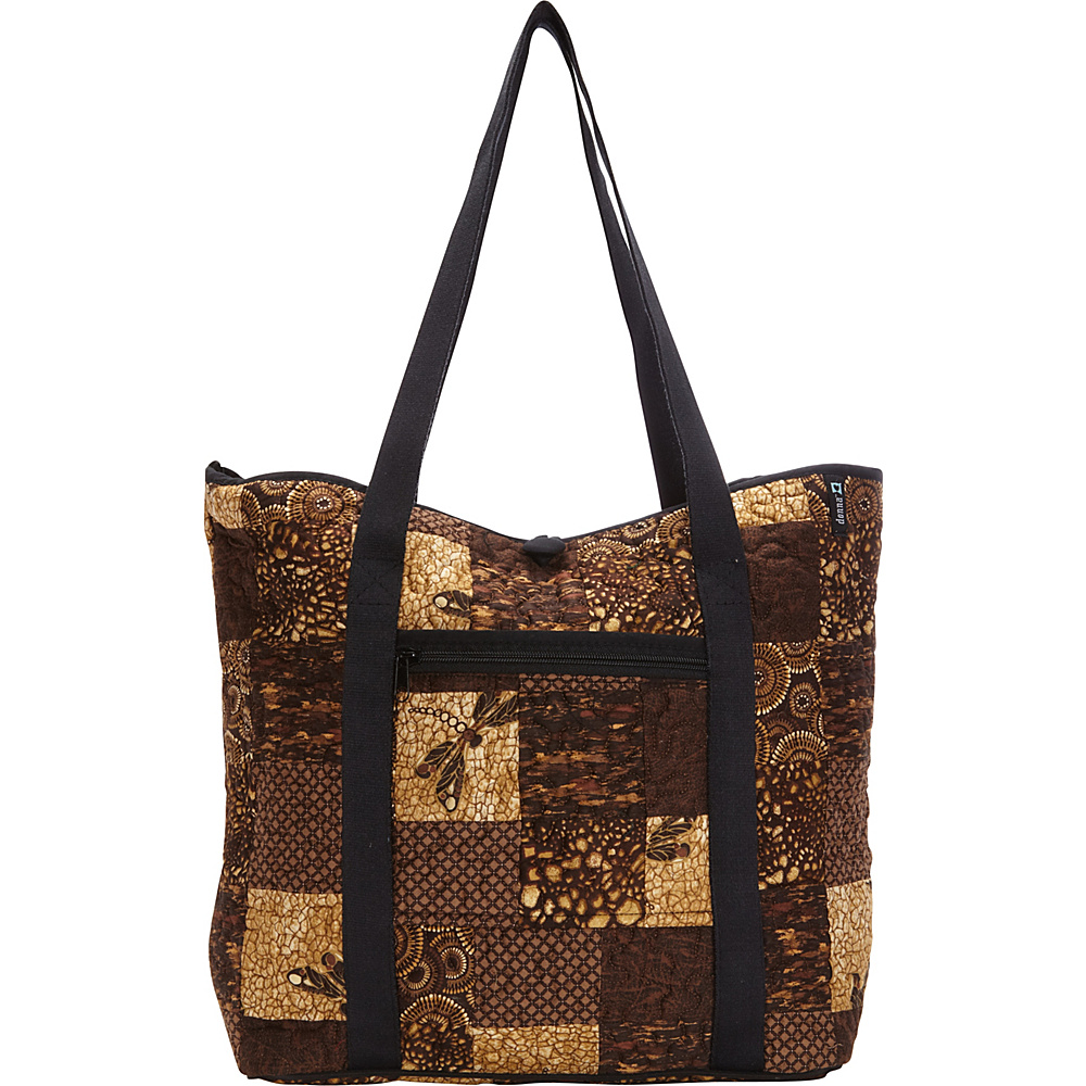 Donna Sharp Large Celina Shoulder Bag Exclusive Dragonfly Donna Sharp Fabric Handbags