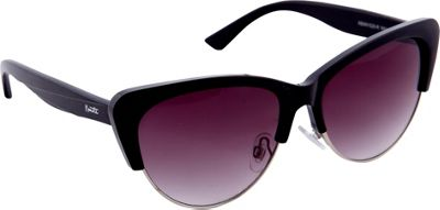 Nanette Nanette Lepore Sunglasses Vintage Cat Eye Sunglasses Black/Silver - Nanette Nanette Lepore Sunglasses Sunglasses