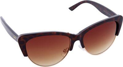Nanette Nanette Lepore Sunglasses Vintage Cat Eye Sunglasses Tortoise/ Gold - Nanette Nanette Lepore Sunglasses Sunglasses