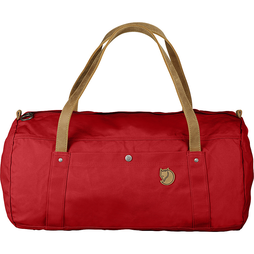 Fjallraven Duffel No.4 Large Red - Fjallraven Travel Duffels - Duffels, Travel Duffels