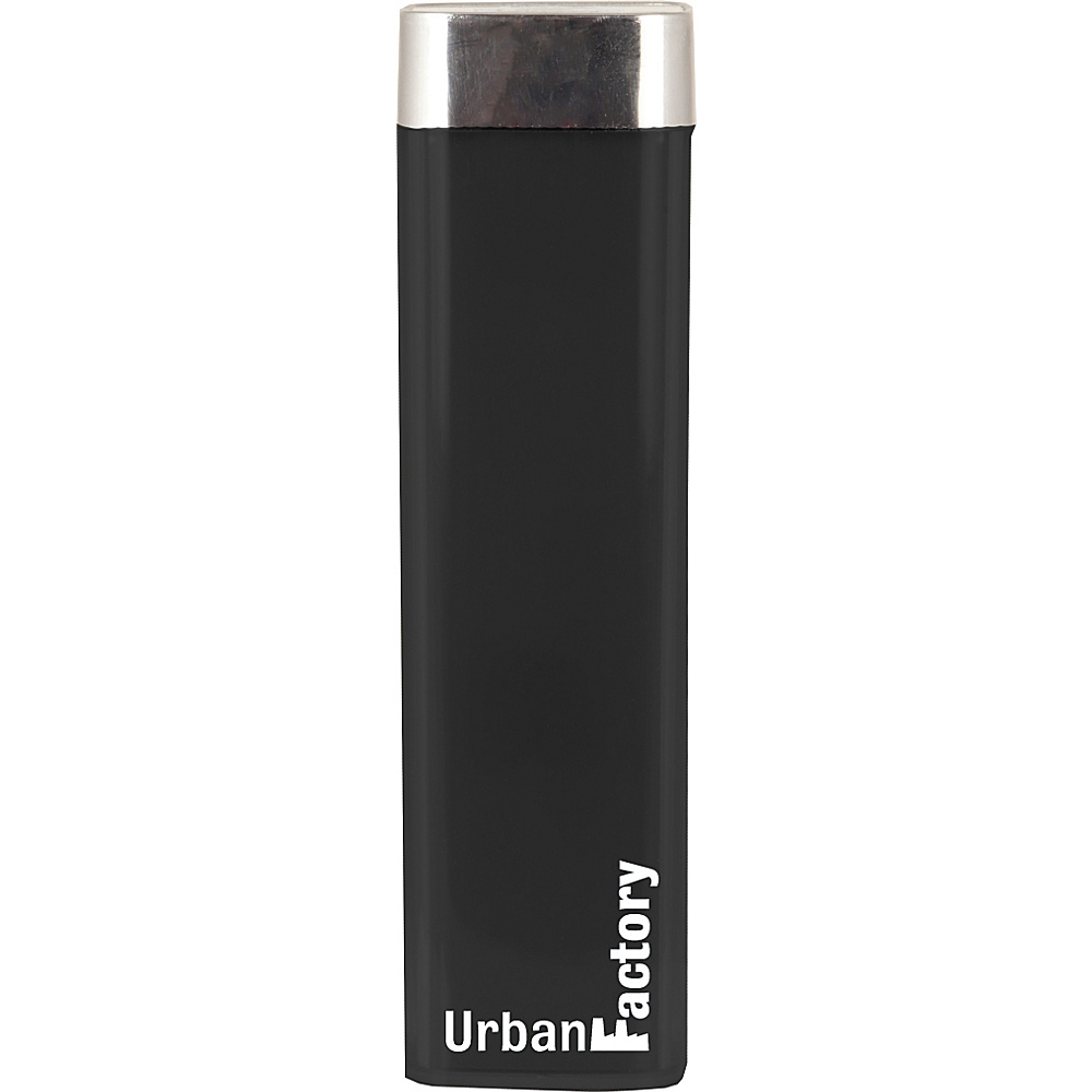 Urban Factory Lipstick Battery 2600 mAh Black Urban Factory Portable Batteries Chargers