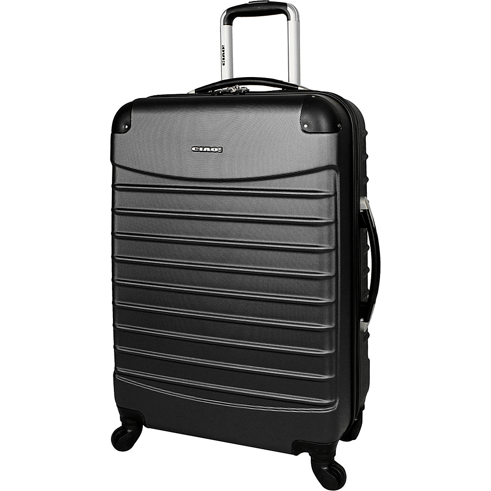 "CIAO! Voyager 20"" Spinner Black - CIAO! Small Rolling Luggage"
