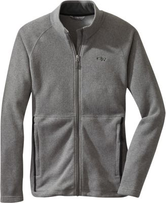 Outdoor Research Mens Longhouse Jacket Pewter – Medium - Outdoor Research Men's Apparel