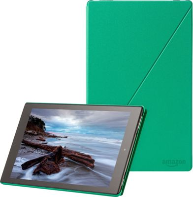 Image of Amazon Products Case for Fire HD 10 (5th Gen) Green - Amazon Products Electronics