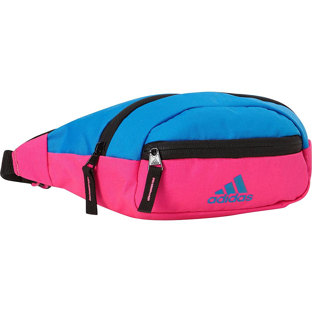 adidas Rand II Waistpack Shock Pink Shock Blue adidas Waist Packs