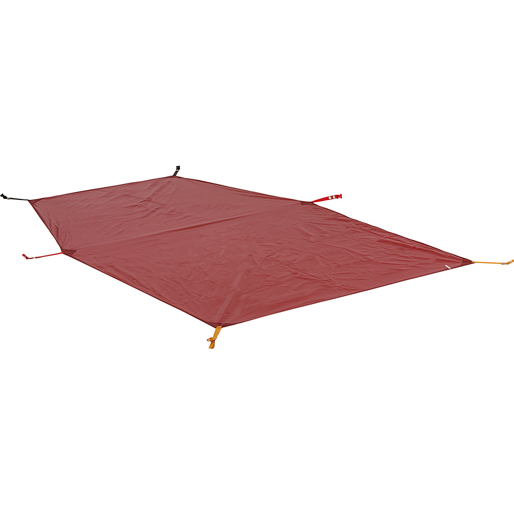 Big Agnes Battle Mountain 2 Person Footprint Red Big Agnes Outdoor Accessories